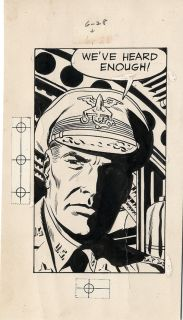 Jack Kirby Wally Wood Skymasters Original Panel Comic Art