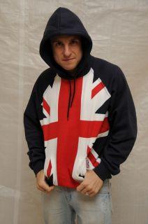 Union Jack Hoodie British Flag Hoodie London Olympics 2012 Queen