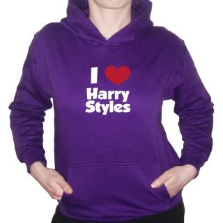 Love Heart Harry Styles Hoody One Direction Hoodie