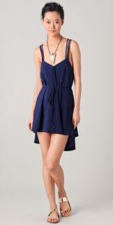 Thayer Multi Strap Weave Dress