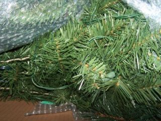 Jaclyn Smith 7 5 Artificial Christmas Tree Bristol Pine 600 Clear
