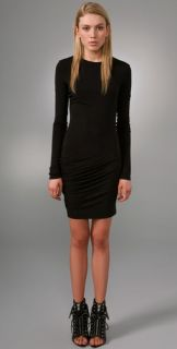 T by Alexander Wang Stretch Long Sleeve Dress