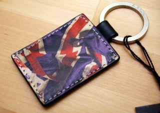 Paul Smith ★ Union Jack ★ Old British Flag Keyring Key Fob New