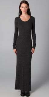 T by Alexander Wang 1x1 Maxi Sweater Dress
