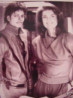 RARE Michael Jackson Jackie Kennedy Moonwalker BK RP