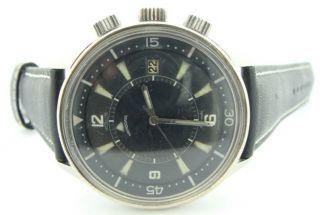 Jaeger LeCoultre Polaris Memovox Calendar Alarm Watch