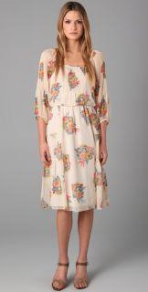 ibi Deco Bouque Prin Dress