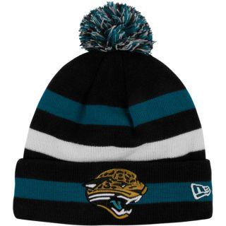Jacksonville Jaguars Youth New Era Sideline Sport Cuffed Knit Hat