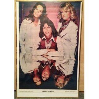 1976 Charlies Angels Poster   Farrah Fawcett, Jackson, Jaclyn Smith