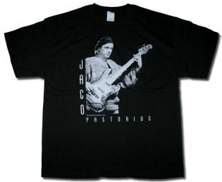 Jaco Pastorius Beret Pic T Shirt Weather Report Jazz