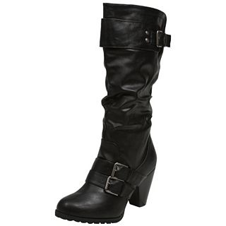 Madden Girl Hinge   HINGE BLK   Boots   Fashion Shoes