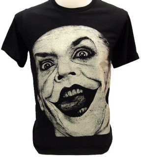 Joker 80s Vtg Batman Jack Nicholson T Shirt Heath M