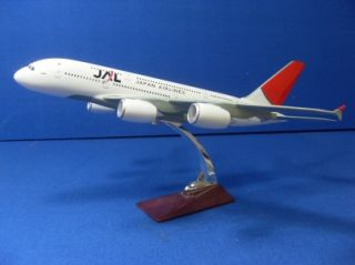 JAL Japan Airlines Airbus A380 Travel Agent Desk Model