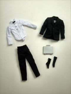 Collector James Bond 007 Ken Model Muse Tuxedo Suit CLOTHES Outfit