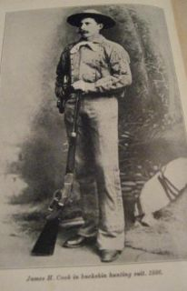 Fifty Years on Old Frontier Cowboy Hunter James Cook