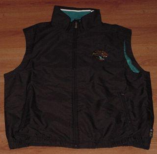 Jacksonville Jaguars Pullover Vest Jacket Medium NFL Fishing Vest