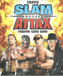 Topps WWE Slam Attax Finishing Move Foil Trading Card See Which Cards