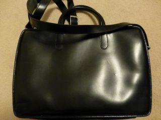 Jack Georges Leather Exclusive Messenger Bag Briefcase