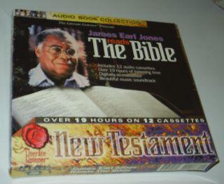 James Earl Jones Reads the Bible (2000, Audio Cassette book collection