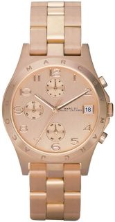 by Marc Jacobs Ros Gold Chronograph Ladies Latest Watch MBM3074