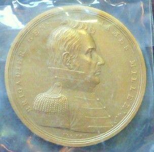 General James Miller U s Mint Medal Large Bronze