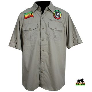 Shirt Lion Selassie Reggae Dancehall Jah Rastafari Dubwise Irie