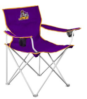 James Madison Dukes NCAA Deluxe Folding Tailgate Chair by Logo Chairs