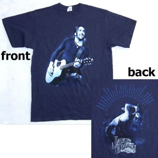 Jake Owen Guitar Singing Pics Tour Blue T Shirt L New