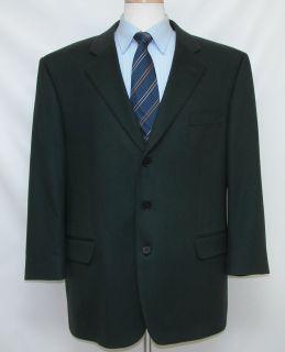 795 Jack Victor 46R 46 Loro Piana Cashmere Jacket Sport Coat Deep Dark