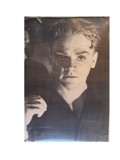 James Cagney Poster Black and White