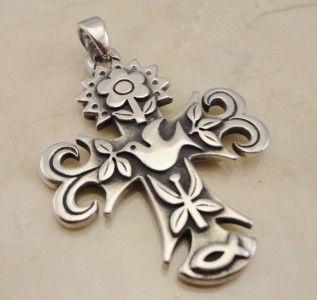 Sterling Silver James Avery Cross Pendant
