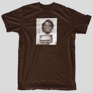 James Brown MUGSHOT Godfather of Soul Motown Detroit Blues T Shirt