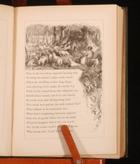 1863 The Seasons by James Thomson Illustrations
