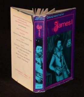 1967 James I David Mathew Stuart Biography First Edition