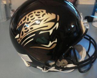 Jacksonville Jaguars Proline VSR4 Authentic Full Size Helmet