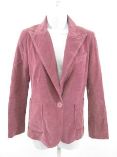 Marc Jacobs Pink Corduroy Jacket Blazer Sz 8