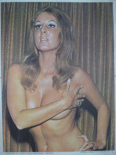 Jacqueline Voltaire Desnuda Matando Cabos RBD © Vintage Poster 70s