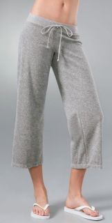 Juicy Couture Heather Terry Crop Pant