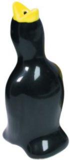 Kitchen Craft Black Bird Ceramic Pie Vent Funnel Spout