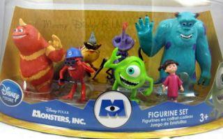 New  Monsters Inc PVC Figurine Figure Playset Set Roz Boo