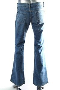 James Jeans Womens Light Kimberly Blue Front Patch Pocket Bootleg Jean