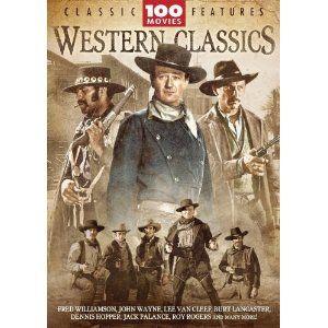 Western Classics 100 Movie Pack DVD 2007 24 Disc Set New
