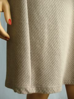 James Perse Gray Ribbed Scoop Dress Size Sz 1 s CLR