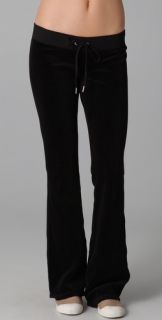 Juicy Couture Velour Skinny Flare Pants