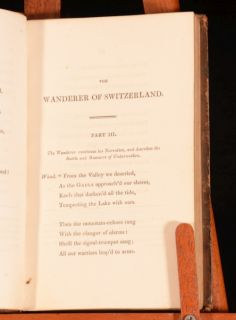 The Wanderer of Switzerland and Other Poems James Montgomery
