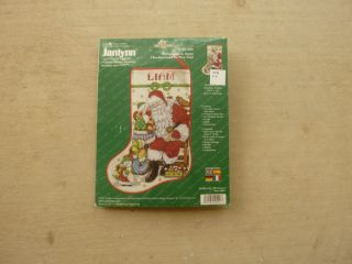 Janlynn Counted Cross Stitch Christmas Stocking