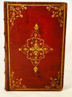 Holy Bible James Watson 1715 Full Morocco Gilt