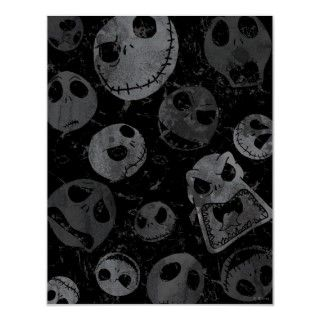 Jack Skellington Pattern 2 Poster