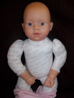 The Brass Key Mother GOOSE Baby Doll 18 for Reborn or Play