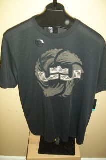 Mens Nike Lebron James Crown Seal Shirt 2XL Miami Heat